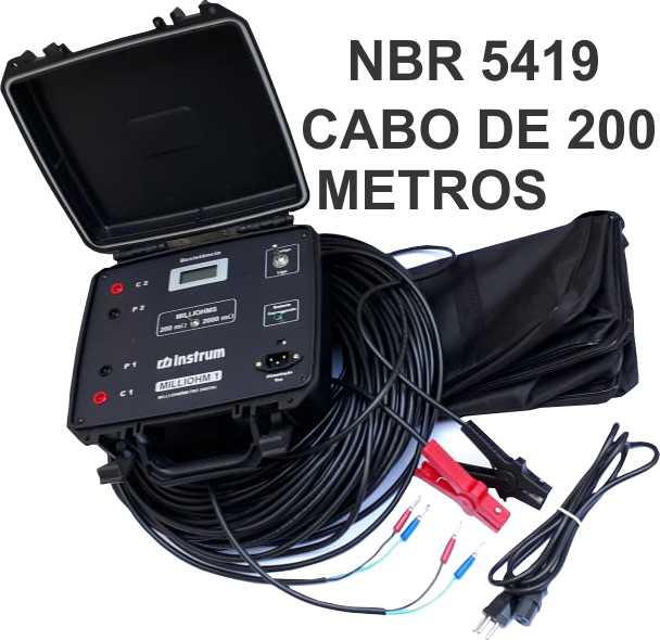 NBR 5419 MILLIOHM METER 1A