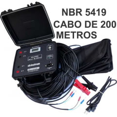 NBR 5419 2015 MILLIOHM METER 1A CABO 200m