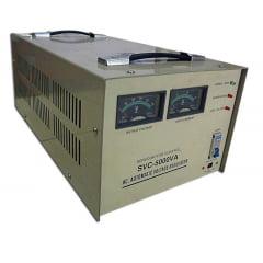 ESTABILIZADOR DE TENSÃO MONOFÁSICO 5 KVA (20 AMP - 220 Vca) SCV-50