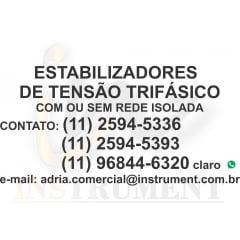 ESTABILIZADOR DE TENSÃO TRIFÁSICO