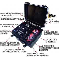 MEGOMETRO DIGITAL 5KV